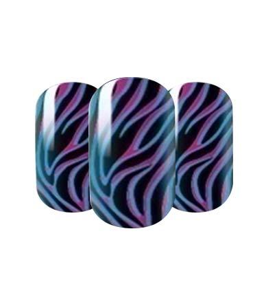 Swirl design nail wraps