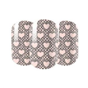 Transparent nail wraps