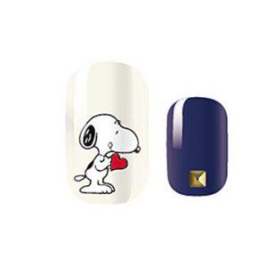 Snoopy print nail wraps