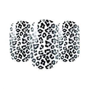 Animal print nail wraps