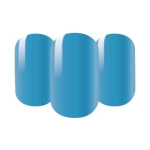 Baby blue nail wraps