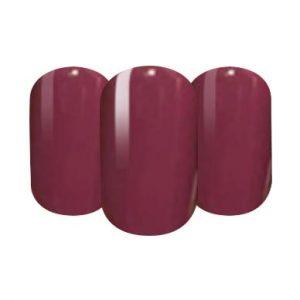 Dark pink nail wraps