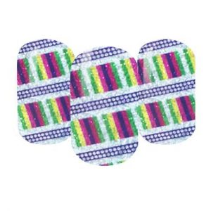 glitter nail wraps