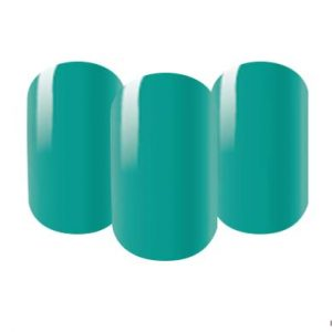 Green nail wraps