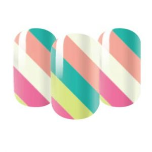 stripey nail wraps
