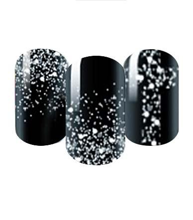 Black nail wraps