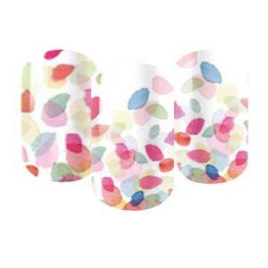 rainbow nail wraps