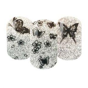 Gliiter nail wraps
